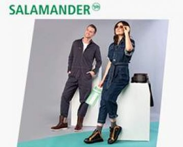 Salamander shoes for comfier days