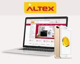 12  interest-free installments on altex.ro