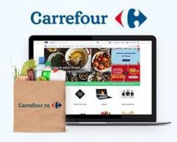 Online shopping with Carrefour