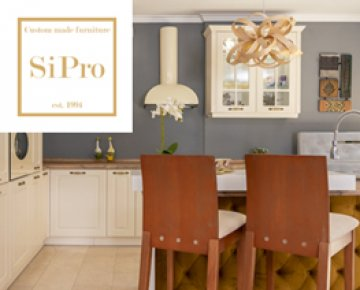 A brand new kitchen with SiPro